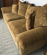 Couch with lots of pillows in Sugar Grove, Illinois