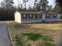 Double wide mobile home in Fort Polk, Louisiana