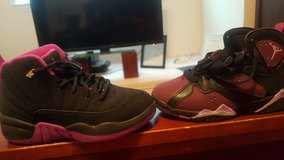 Jordan 11s and 7s in Nellis AFB, Nevada