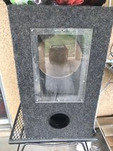 """Ported bass speaker box fits 10"""" in Barstow, California"""