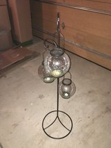 Pier1 three globe candle holder in Fort Carson, Colorado