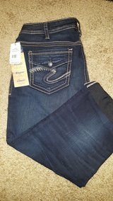 Size 16 silvers capris NWT in Great Lakes, Illinois