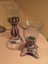2 Southern Living Rustic Candle Holders or Serving Pieces in Lockport, Illinois