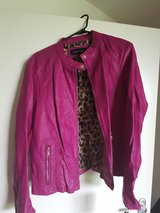 Women's 2x Pink Leather Jacket - NEW WITH TAGS in Stuttgart, GE