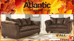 FALL SAVINGS!! SOFA AND LOVE SETS! 9 COLOR OPTIONS! FCFS! in Camp Lejeune, North Carolina