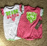 6/9mos NEW Bears outfits in Westmont, Illinois