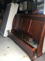 Bed room king sleigh bed with box spring in Carlisle, Pennsylvania