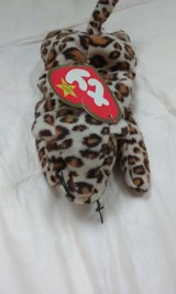 Ty Beanie Baby Freckles the Leopard in Cochran, Georgia