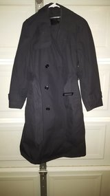 Black Army Trench Coat Size 38S in Fort Polk, Louisiana