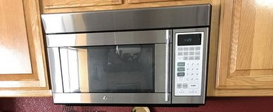 Stainless Steel Microwave in Yucca Valley, California
