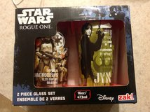New set of 2 Star Wars Rouge One glasses in Fort Riley, Kansas