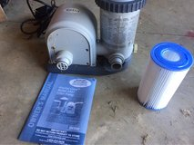 Intex Krystal Clear above ground pool filter pump in Byron, Georgia