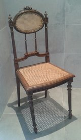 Gorgeous antique French Louis 16th chair in Ramstein, Germany