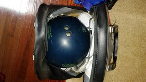 Bowling ball 16 lb bag and shoes 9 in Fort Belvoir, Virginia