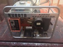 Kubota A 3500 Generator- Great Condition in 29 Palms, California