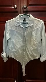 Highway jeans light blue shirt in Kirtland AFB, New Mexico