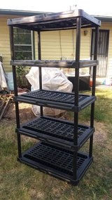 "Black adjustable stand 36x24"" 71"" tall in Fort Riley, Kansas"