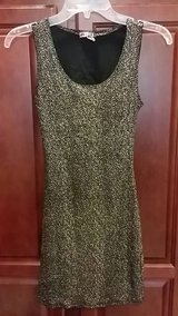 size small fitted stretchy black & white dress in Kirtland AFB, New Mexico