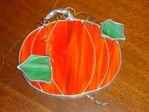 stained glass pumpkin in Chicago, Illinois