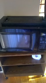 magic chef microwave and cart $35 for both in Naperville, Illinois
