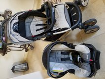 4 piece car seat and stroller combo in Vista, California