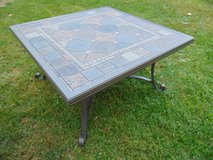 Wrought Iron Patio Coffee Table in Sugar Grove, Illinois