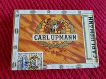 Vintage Carl Upmann wooden cigar box in Wheaton, Illinois