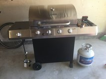 Four burner CharBroil Grill w/ side burner for sale in San Clemente, California