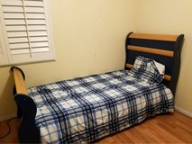 Sleigh Twin Bed in Barstow, California