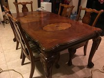 Rosewood Dining Table in Okinawa, Japan
