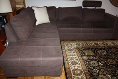 Big Chaise Sofa Lounge Couch in Ramstein, Germany
