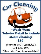 Car Cleaning Service in Okinawa, Japan