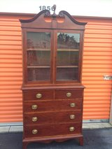 Antique Hepplewhite/Sheraton Cherry/Mahogany Cabinet in Cherry Point, North Carolina