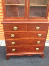 Hepplewhite/Sheraton Cherry/Mahogany Cabinet in Cherry Point, North Carolina