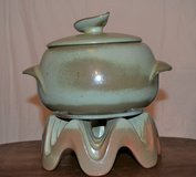 Frankoma 3Pc Soup Pot With Warmer Sale or Trade in Ramstein, Germany