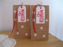 New Treat Bags With Tags Handmade By Me 8 Available 3.5 x 7 inches in Ramstein, Germany