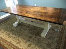 Order Handcrafted Rustic Farmhouse Style Dining Tables & benches in Camp Lejeune, North Carolina