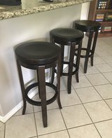 Swivel bar stools solid beech wood in Liberty, Texas