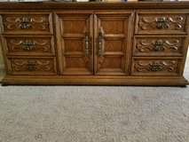Oak bedroom set in Colorado Springs, Colorado