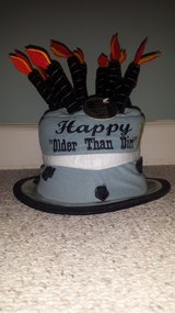 """New with Tags!  """"Older Than Dirt"""" Birthday Hat (only 1 left) in Glendale Heights, Illinois"""