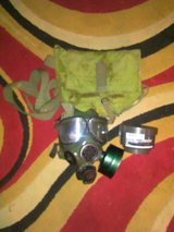 M40 gas mask in Camp Lejeune, North Carolina