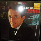 1962 Andy Williams MOON RIVER & other great movie themes vinyl LP Stereo in New Lenox, Illinois
