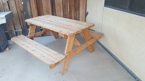 Picnic Table in Fort Irwin, California