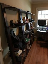 Desk, File Cabinet/Printer Tables & (3) Bookcases in Camp Lejeune, North Carolina