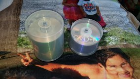 New empty discs in Fort Drum, New York