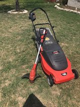 lawn mower and weed eater in Fort Hood, Texas