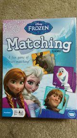 Frozen - Matching Game in St. Charles, Illinois
