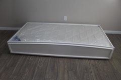 White Trundle Frame with Twin Mattress included in Spring, Texas
