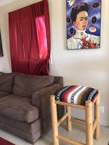 Mexican Blanket Stool in Camp Pendleton, California