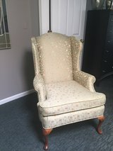 Wing back chair in Plainfield, Illinois